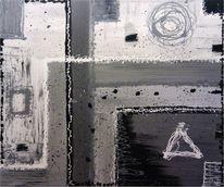 Putz, Abstrakt, Fat lines, Malerei