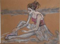 Ballett, Tanz, Malerei, Figural