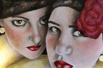 Malerei, Figural, Schwestern