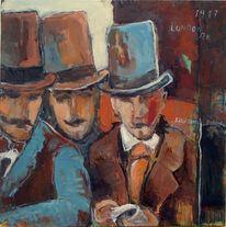 Ölmalerei, Malerei, Figürliche malerei, Gemälde