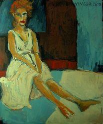 Ölmalerei, Figurativ, Malerei, Figürliche malerei