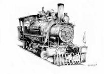 Lokomotive, Zeichnungen