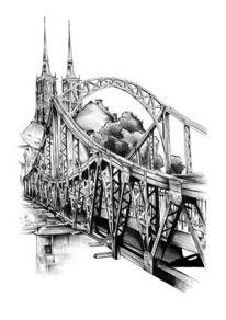 Brücke, Zeichnungen,