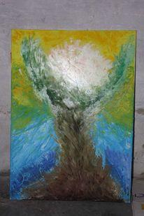 Malerei, Abstrakt, Auferstehung