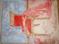 Moderne kunst, Malerei, Stuhl