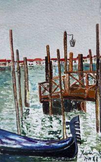 Venedig, Venezia, Gondel, Canal grande
