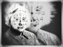 Alles ist relativ, Geist, Einstein, Digitale kunst