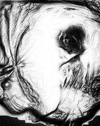 Schatten, Tod, Geburt, Digitale kunst