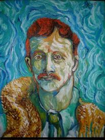 Malerei, 2012, Gogh