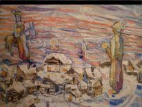 Malerei, 2011, Weihnachten