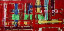 Malerei, Malerei abstrakt, Wild