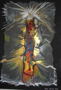 Glas, Acrylmalerei, Abstrakt, Malerei