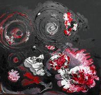 Glas, Acrylmalerei, Malerei,