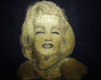 Acrylmalerei, Monroe, Malerei,