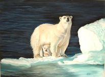 Tierwelt, Tierportrait, Pastellmalerei, Tiermalerei