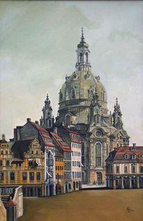 Malerei, Menschen, Dresden