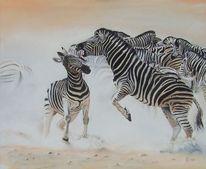 Tiere, Zebrastreifen, Tierwelt, Tiermalerei