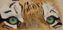 Großatzen, Tiger, Tiermalerei, Tierportrait