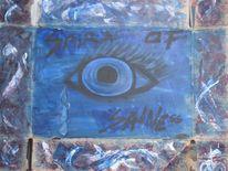 Tränen, Acrylmalerei, Augen, Gefühl