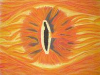 Sauron auge, Malerei, Portrait