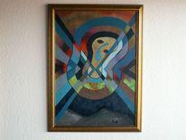 Acrylmalerei, Ölmalerei, Malen, Abstrakt