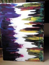 Leinen, Malerei, Abstrakt, Übergang
