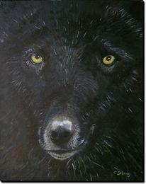 Tiere, Wildes tier, Wolf, Malerei