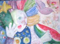 Fantasie, Malerei, Blind