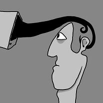 Schwarzweiß, Digital, Tv, Digitale kunst