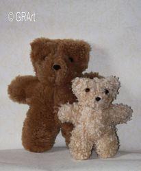 Kuscheltier, Plüschtier, Teddybär, Bär