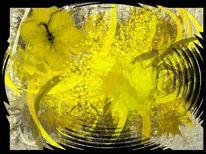 Farbencompositionen, Abstrakt, Malerei