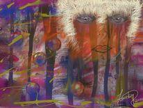 Traumwelt, Abstrakt, Malerei