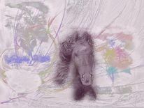 Pferde, Malerei, Welt