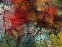 Abstrakt, Blickfang, Malerei