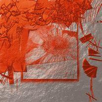 Metall, Abstrakt, Malerei