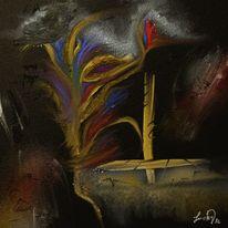 Abstrakteserie, Malerei