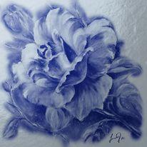 Blau, Wind, Metall, Malerei