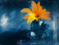 Orange, Blüte, Blumen