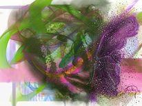 Blütenduft, Malerei