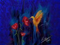 Blütenraub, Gefühlvolle, Malerei