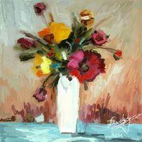 Blumenstrauß, Malerei, Blumen