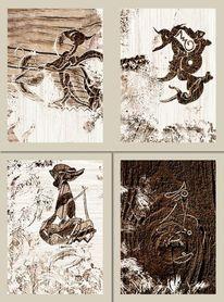Collage, Serie, Malerei