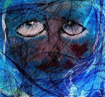Netz, Malerei
