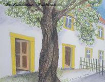 Kastanienbaum, Zeichnungen, Der anfang