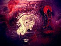Digitale kunst, Abstrakt, Schrei