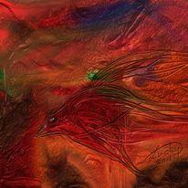Vogelpflug, Malerei