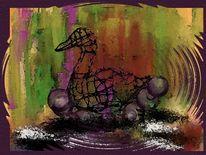Ente, Malerei,