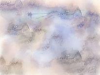 Dünen, Malerei