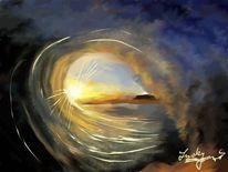 Welle, Sehen, Malerei