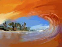 Sehen, Welle, Malerei